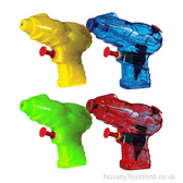Mini Toy Water Pistols - Assorted Colours